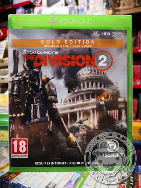 全新 XBOX ONE 原版遊戲片, 湯姆克蘭西:全境封鎖 2 中文黃金版
