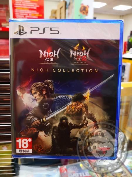 全新 PS5 原版遊戲片, 仁王 收藏輯 中文版