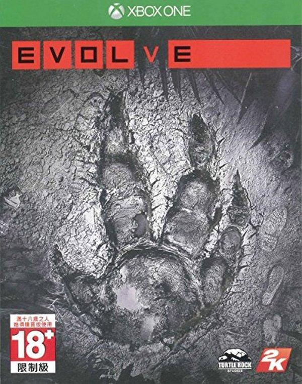 出清 全新 XBOX ONE 原版片, 惡靈進化 中文一般版