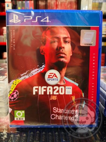全新 PS4 原版遊戲片, 國際足盟大賽 20 FIFA 2020 冠軍版 中文版