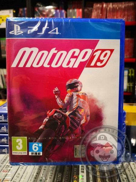 全新 PS4 世界摩托車錦標賽 MotoGP 2019 英文版