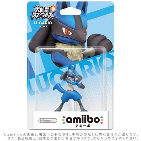 全新任天堂明星 NFC 連動人偶玩具 amiibo, 路卡利歐 LUCARIO款(不含遊戲片)