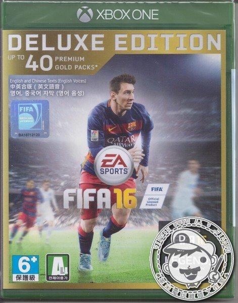 出清 全新 XBOX ONE 原版遊戲片, FIFA 國際足盟大賽 16 中英文合版