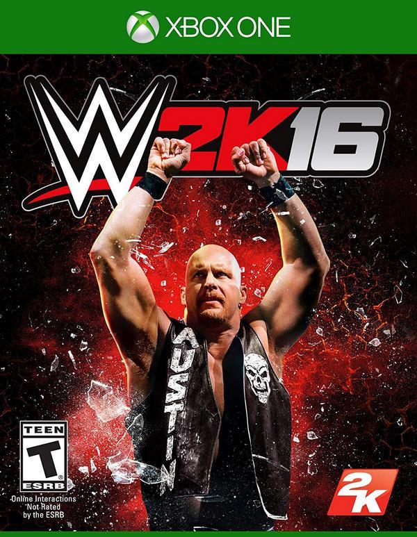 出清 全新 XBOX ONE 原版遊戲片,WWE 2K16 英文一般版(沒出中文喔)