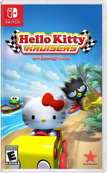 全新NS Switch原版遊戲, Hello Kitty 愛競速 英文版, 沒中文喔