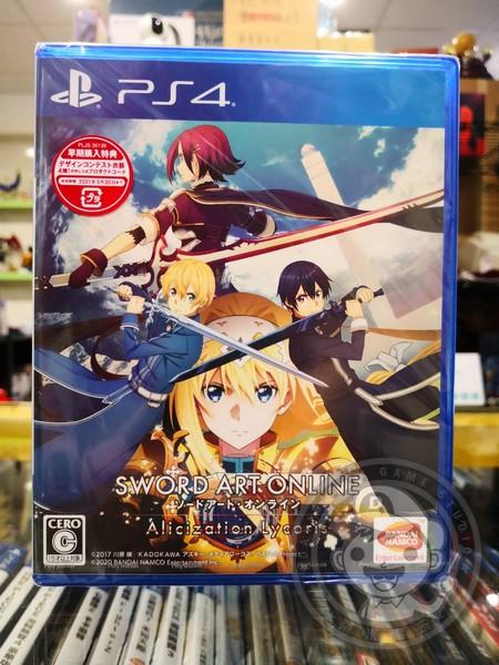 全新 PS4 原版遊戲片, 刀劍神域 彼岸遊境 日區純日版, 內附早期購入特典DLC