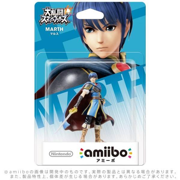 全新任天堂明星 NFC 連動人偶玩具 amiibo, 大亂鬥 馬斯 MARTH 款(不含遊戲片)