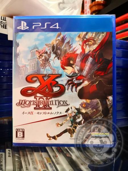 全新 PS4 原版遊戲片, 伊蘇XI Monstrum NOX 伊蘇9 日區日文普通版