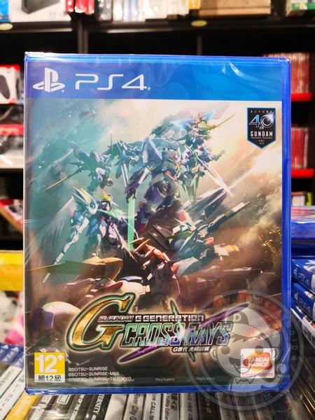 全新 PS4 原版遊戲片, SD 鋼彈 G 世代 火線縱橫 中文版, 非首批貨, 沒有特典DLC沒有額外贈品喔