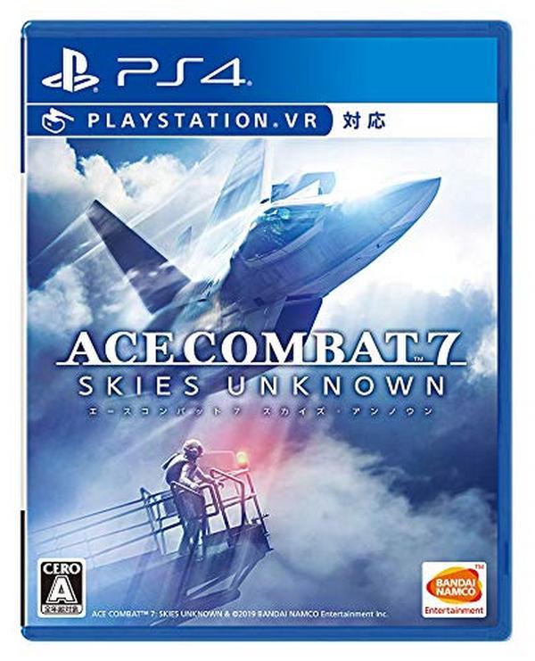 全新 PS4 原版遊戲片, 空戰奇兵 7:未知天際 純日普通版, 內附首批特典DLC