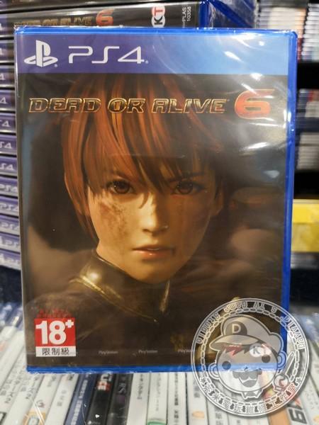 特價片 全新 PS4 原版遊戲, 生死格鬥 6 DOA 6 中文一般版