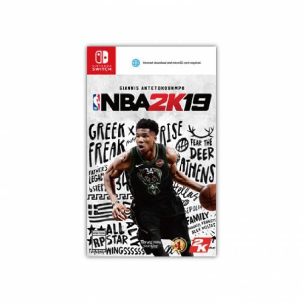 期間特價 全新 NS Switch 原版遊戲卡帶, NBA 2K19 中文一般版