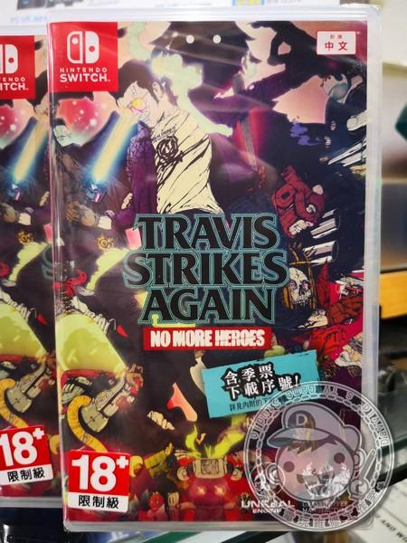 全新 NS 原版遊戲卡帶, 特拉維斯再戰江湖:英雄不再 中英文合版