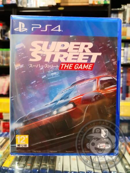 全新 PS4 超級街道賽 Super Street: The Game 中文版
