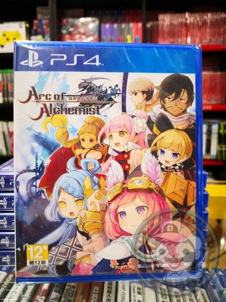 全新 PS4 原版遊戲片,Arc of Alchemist 世界終焉的物語 中文一般版