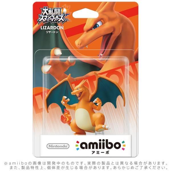 預購 全新任天堂明星 NFC 連動人偶玩具 amiibo, 大亂鬥 噴火龍 款(不含遊戲片) 預定2020年內再販