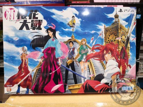 全新 PS4 原版遊戲片, 新櫻花大戰 中文限定版, 限宅配寄送