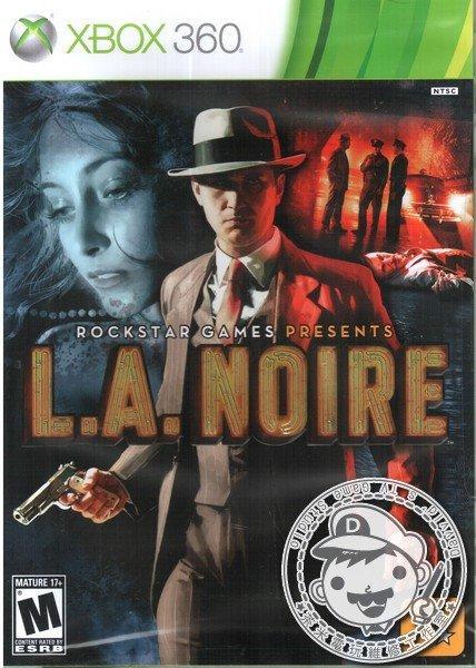 出清 全新 XBOX360 原版遊戲片, 黑色洛城(L.A. Noire) 英文版