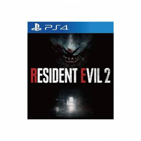全新 PS4 原版遊戲片, 惡靈古堡 2 重製版 亞洲中文版(血腥版雙封面設計)