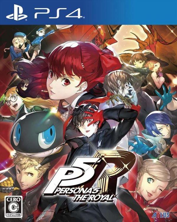 日版 全新 PS4 原版遊戲片, P5R 女神異聞錄 5 皇家版 日文普通版