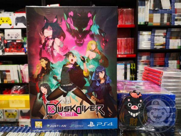 全新 PS4 原版遊戲片, Dusk Diver 酉閃町 中文限定版, 附贈特典贈品