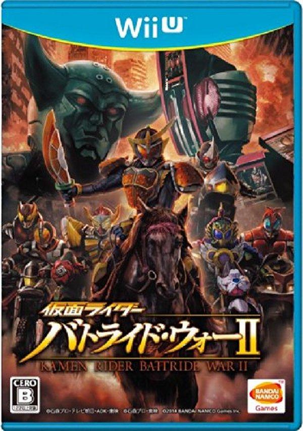 出清 全新 Wii U 原版遊戲片, 假面騎士:鬪騎大戰 II 純日一般版