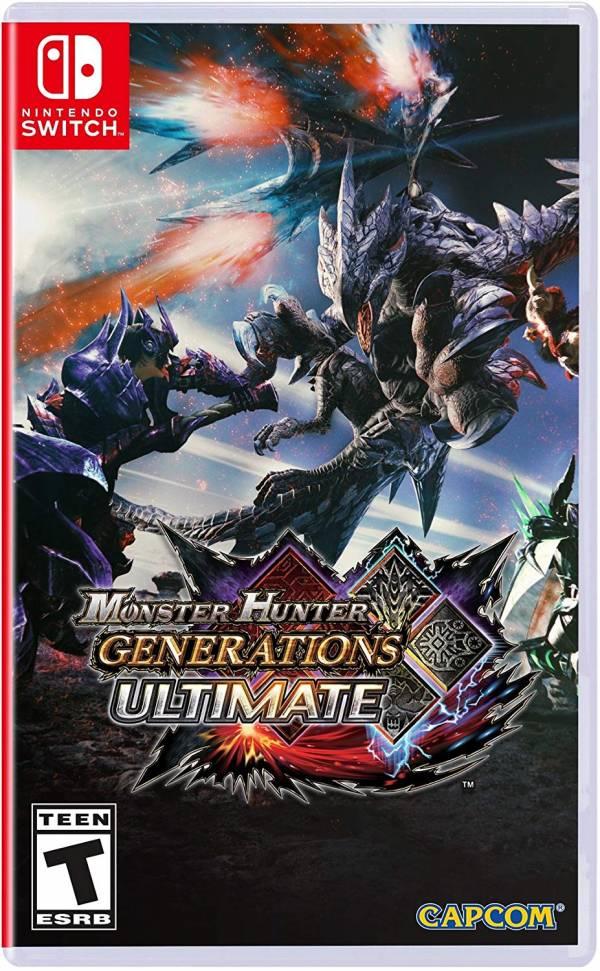 全新 NS Switch 原版遊戲, 魔物獵人 世代 終極版 英文版,可更新有中文字幕