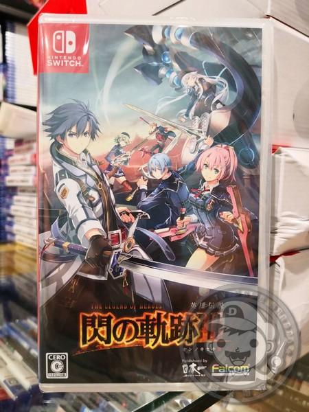 全新 Switch 原版遊戲卡帶, 英雄傳說 閃之軌跡 III 純日版(無中文)