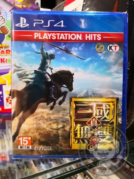 全新 PS4 原版遊戲片, 真‧三國無雙 8 中文版(PlayStation Hits)
