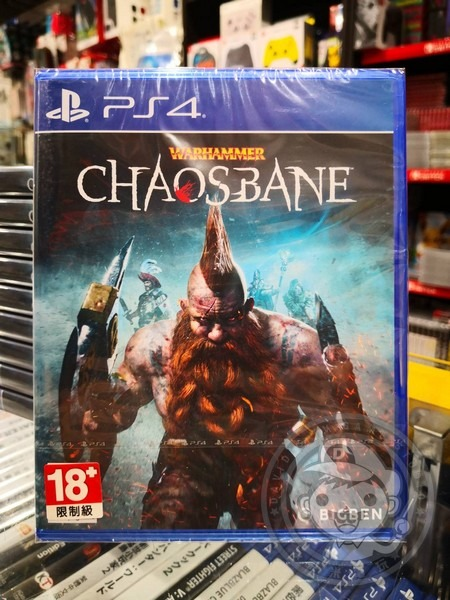 全新 PS4 原版遊戲, 戰鎚:混沌禍源 中英文一般版