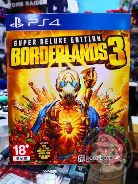 全新 PS4 原版遊戲片, 邊緣禁地 3 超級豪華中文版