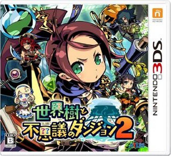 特價片 全新 3DS 原版卡帶, 世界樹與不可思議的迷宮 2 純日一般版
