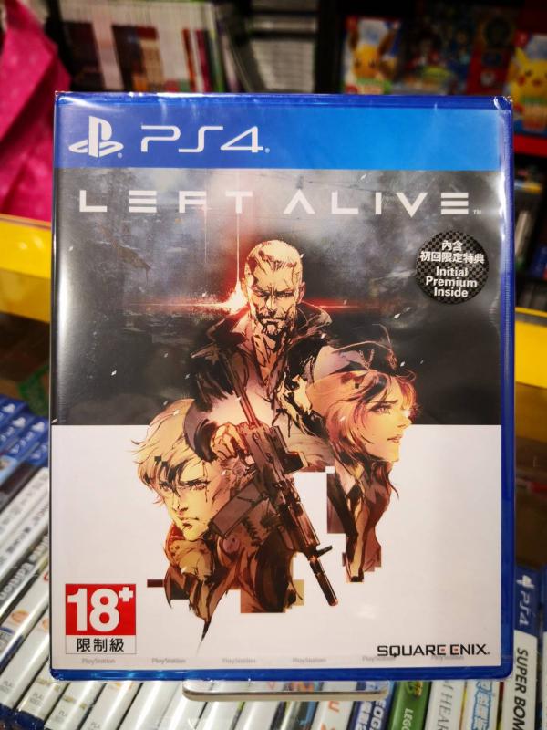 全新 PS4 原版遊戲片, LEFT ALIVE 日英文亞版, 內附首批特典DLC(沒出中文)