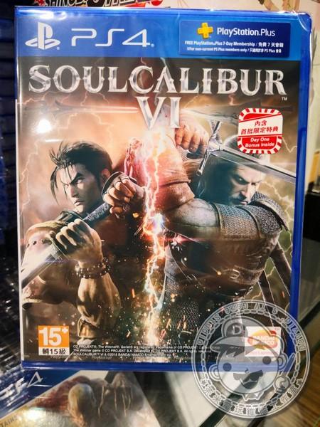 全新 PS4 原版遊戲片, 劍魂 6 Soul Calibur VI 中文一般版
