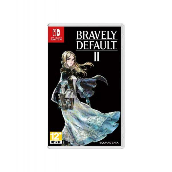 第二批 全新 NS 原版卡帶, 勇氣默示錄 2 Bravely Default II 中文版, 無特典DLC