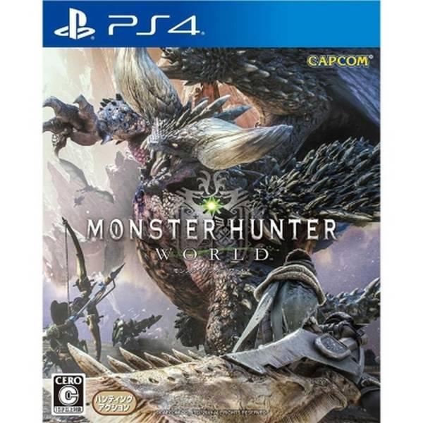 特價片 全新 PS4 原版遊戲片 魔物獵人世界 日文亞版(可更新中文字幕), 內附特典DLC但非首批沒附贈品囉