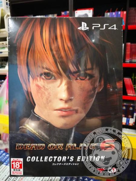 期間限定 全新 PS4 原版遊戲, 生死格鬥 6 DOA 6 中文珍藏版