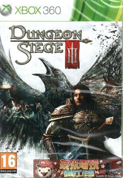 出清 全新 XBOX360 原版遊戲片, 末日危城 3 / Dungeon Siege III 英文版