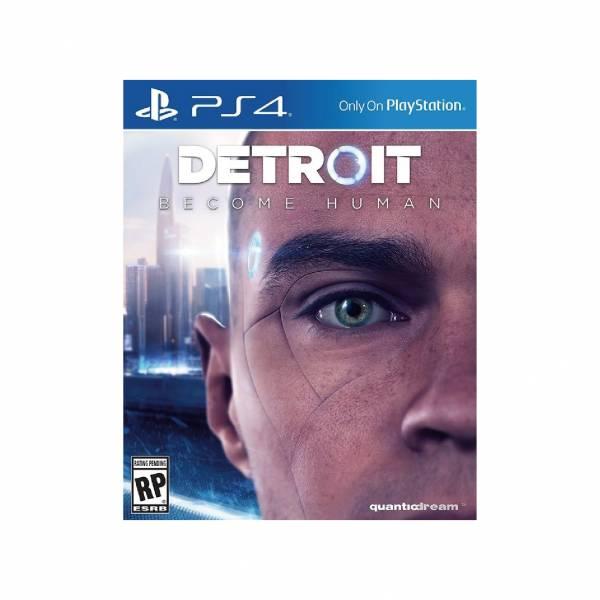 特價片 全新 PS4 原版遊戲片, 底特律:變人 中文一般版, 非首批沒附特典DLC囉