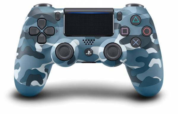 全新台灣 SONY 公司貨 PS4 DUALSHOCK 4 新款無線控制器(迷彩藍)