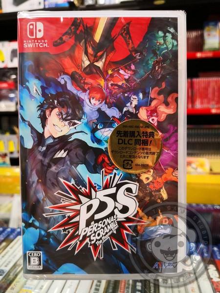 全新 Switch原版卡帶,女神異聞錄 5 亂戰:魅影攻手 日區日文普通版