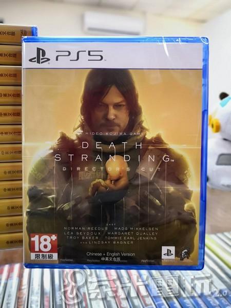 全新 PS5 原版遊戲片, 死亡擱淺 導演版 中文版