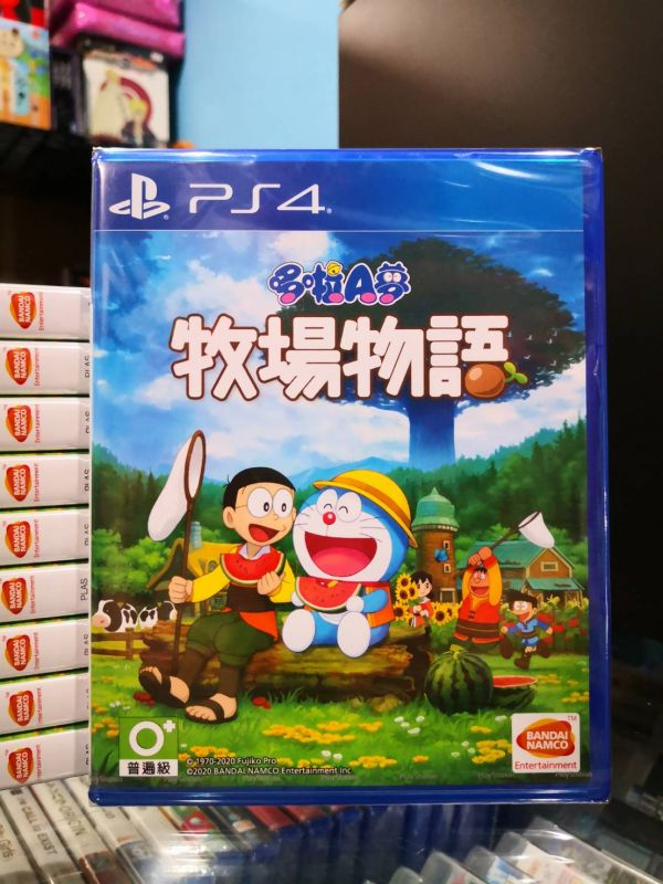 全新 PS4 原版遊戲片, 哆啦 A 夢 牧場物語 中文版