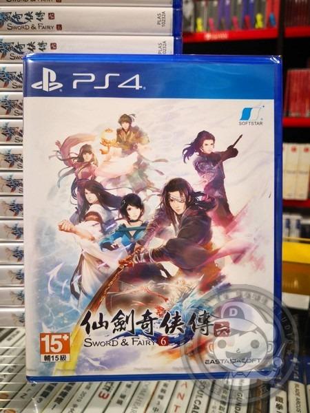 全新 PS4 原版遊戲片, 仙劍奇俠傳六 中文一般版