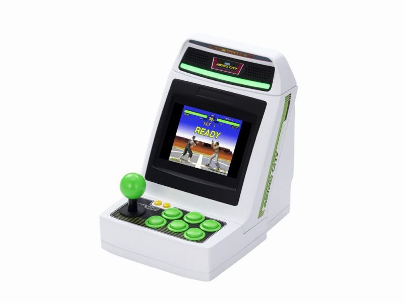 全新台灣代理貨 SEGA 迷你街機 Astro City Mini 收錄36款遊戲