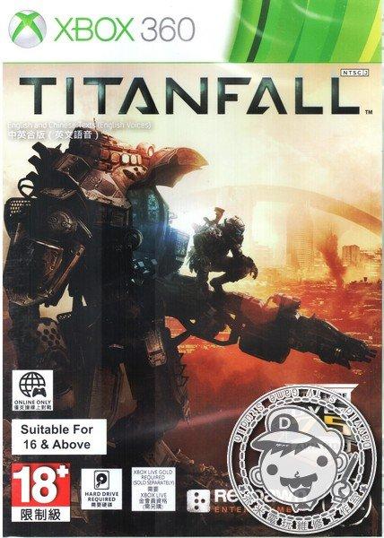出清 全新 XBOX360 原版遊戲片, 神兵泰坦 TITANFALL 中英文合版
