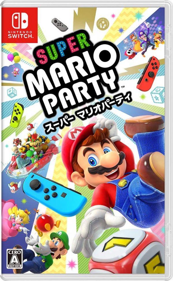 全新 NS Switch 原版遊戲, 超級瑪利歐派對 日文包裝中文版, 多人遊玩歡樂片