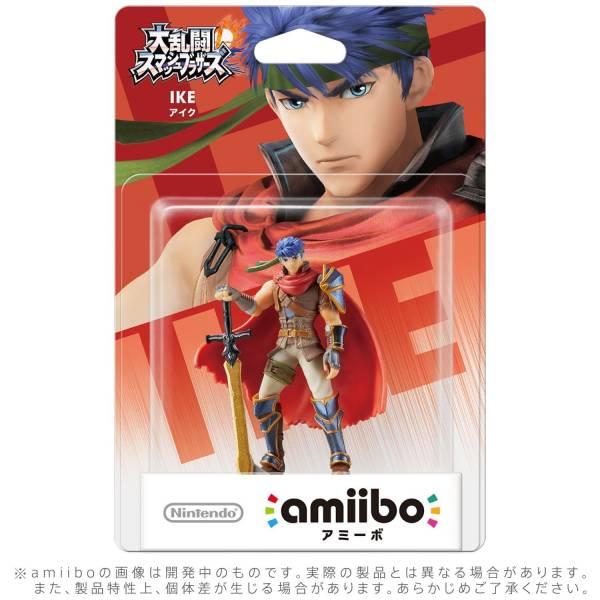 全新任天堂明星 NFC 連動人偶玩具 amiibo, 大亂鬥 艾克 IKE 款(不含遊戲片)
