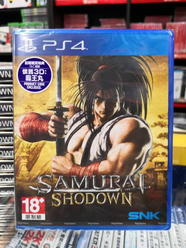 全新 PS4 原版遊戲片, 侍魂 曉 中文一般版, 無贈品