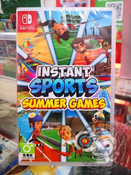 全新 NS 原版遊戲卡帶, 即時運動夏日遊戲 Instant Sports 簡中英文版
